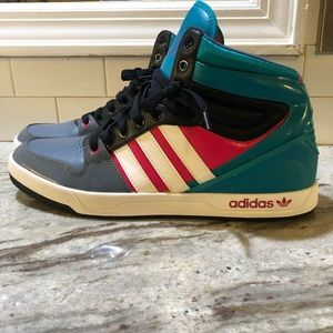 Adidas retro high top sneaker